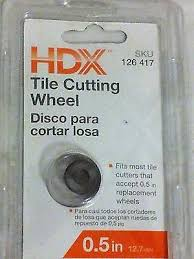 hdx tile cutter wheel hdx mod 10214 14 in rip ceramic tile cutter handle is padded to