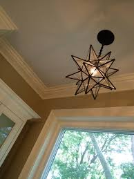 Moravian Star Light Fixture From Home Depot Laundry Room
