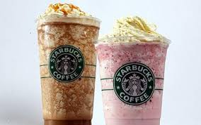 Strawberries Cream And Light Caramel Frappuccinos From Starbucks Women Warned Over Iced Coffees Containing