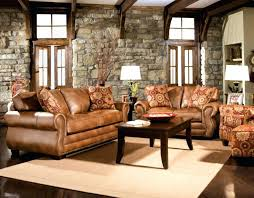 Rustic Leather Couches Mesmerizing Brown Sectional Sofa For Living Room Furniture Ideas Has Small