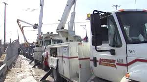Pepco Trucks In Snow | Montgomery Community Media