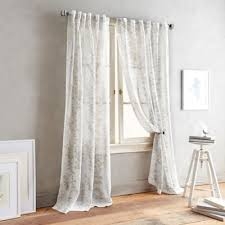 Bed Bath And Beyond Curtains 108 by Buy 108 Inch Linen Curtain Panels From Bed Bath U0026 Beyond