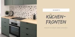 küchenfronten selbst lackieren kolorat