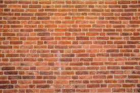Download Solid Rustic Red Bricks Wall Surface Stock Image