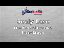 Tempur Pedic Ergo Headboard Brackets by Sealy Ease Adjustable Base Headboard Bracket Installation