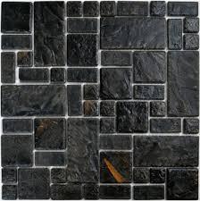 craft black porcelain wall tiles pcmt089 ceramic mosaic