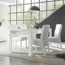 details zu tischgruppe essgruppe marmor style weiß grau kunstleder weiß esszimmer carrara