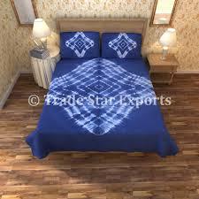 Blue Tie Dye Bedding by Online Store Indigo Tie Dye Bedding Set Shibori Hand Dyed
