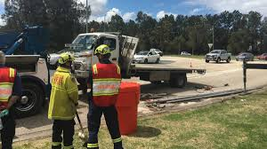 100 Truck Rollover Rollover At Jesmond Roundabout Sparks Heavy Traffic Delays