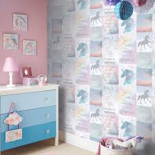Arthouse Believe In Unicorns Glitter Wallpaper