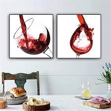 wein poster küche bar esszimmer dekor leinwand bild wand