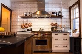 Log Cabin Kitchen Backsplash Ideas by 9 Kitchens With Show Stopping Backsplash Hgtv U0027s Decorating