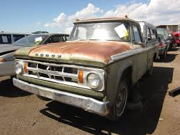 Junkyard Find: 1968 Dodge D-100 Adventurer Pickup - The Truth About Cars