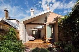 100 Sydney Terrace House A Narrow Renovation In For Two Retired Teachers