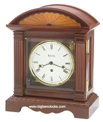Bulova Table Clocks Wood by Bulova Mantel Clock B5504 Collins