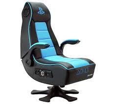 X Rocker Vibrating Gaming Chair by X Rocker Infiniti Playstation Gaming Chair