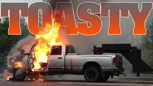 Cummins Turbo Diesel Catches Fire 5-21-15 - YouTube New Duramax 66l Diesel Offered On 2017 Silverado Hd Early History Of The Engine Large Fuel Tank A Truck In Camouflage Colours Labelled With The Truth About Egt Power Magazine Mechanic Jobs 10 Best Used Trucks And Cars Why You Dont Put Gas Diesel Youtube Introduced Sierra Pumping Gas Stock Photos Images Weigh Stations Evan Transportation Accidentally Fueling With Gasoline Truck Repair Vineland Nj