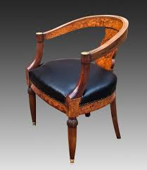 Antique French Burr Walnut Writing Table With Chair | 505236 ...