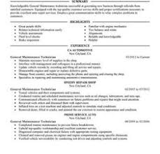 Maintenance Technician Resume Samples Unforgettable Examples To Stand Out Occupationalexamples