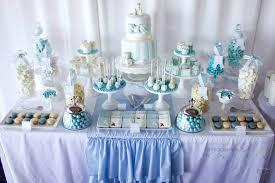 blue white candy dessert bar http www facebook com photo php