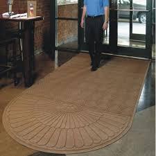 Andersen Waterhog Floor Mats by Waterhog Grand Classic Mat Rounded End Half Oval Door Mats