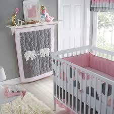 Neutral Gender Baby Elephant Nursery Bedding