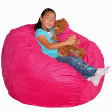 Fuzzy Bean Bag Chair Unique Valuable Kids Chairs In Outdoor Furniture With For Modern