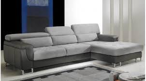 canapé angle design canapé d angle droit cuir microfibre gris pas cher canapé angle
