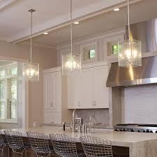 glass panel pendants light kitchen island brass light gallery
