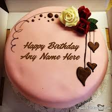 Happy Birthday Chocolate Cake With Name Edit And 1064