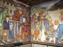 Coit Tower Murals Images labaudt u0027s inspirational beach chalet murals foundsf