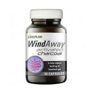 Lifeplan Windaway Activated Charcoal Supplement - 30 Capsules