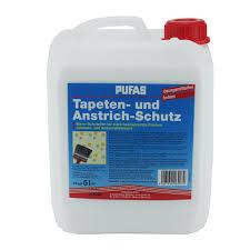 pufas tapetenschutz anstrichschutz farbloser schutzanstrich 5 liter