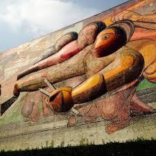 David Alfaro Siqueiros Murales by The Murals At Ciudad Universitaria Unam U2013 Something To Write