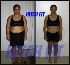 Faithfully Fit February 2014 by Online Weight Loss Program Client Sheds 40 Pounds With Hitch Fit