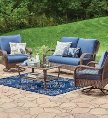 Inexpensive Patio Conversation Sets by Colebrook 4 Piece Outdoor Conversation Set Outdoor Living