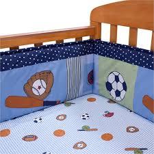bedtime originals super sports crib bumper