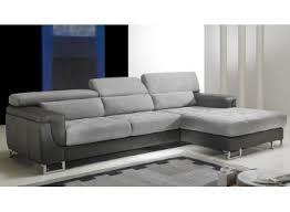 canapes haut de gamme canapé d angle gauche cuir microfibre gris pas cher canapé angle