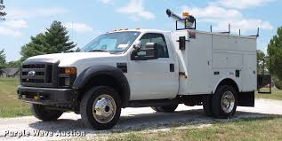 100 Utility Bed Truck For Sale 2008 D F550 Super Duty XL Utility Bed Truck With Crane