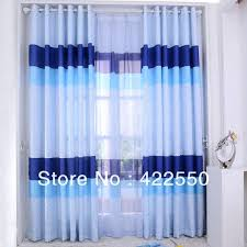 Blue Ombre Curtains Walmart by Curtains For Kids Bedroom Transport Blue Blackout Eyelet Curtains