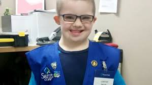 Sams Club Desktop by Child With Down Syndrome Visits Sam U0027s Club And Wins Over Store