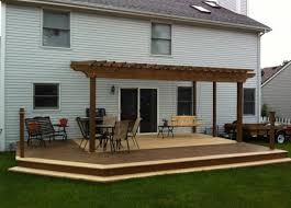 Certainteed Decking Vs Trex by Two Tone Color With Darker Going Around The Border Of The Deck