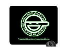 Laughing Man Logo Mouse Pad Mousepad 10
