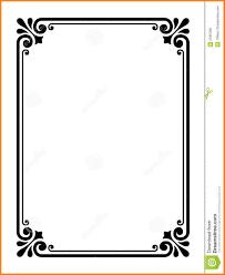 9 Outline Border Designs For Paper