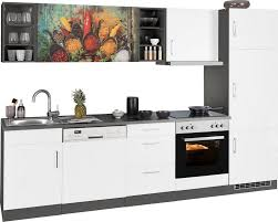 held möbel küchenzeile mit e geräten breite 280 cm kaufen otto