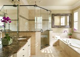 Groutless Subway Tile Backsplash by Tiles Create Ambience Your Desire With Travertine Tile Bathroom