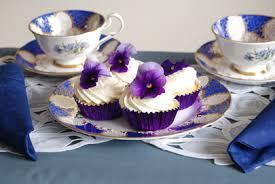 Fairy Cakes White Choc Blue China