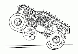 100 Ninja Turtle Monster Truck Coloring Pages Printable Coloring Page