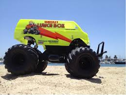 100 Monster Truck Lunch Box 58347 Box From Special Showroom Neon