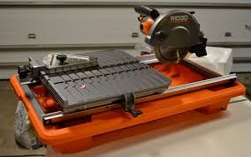 ridgid 7 tile saw review on tool box buzz tool box buzz
